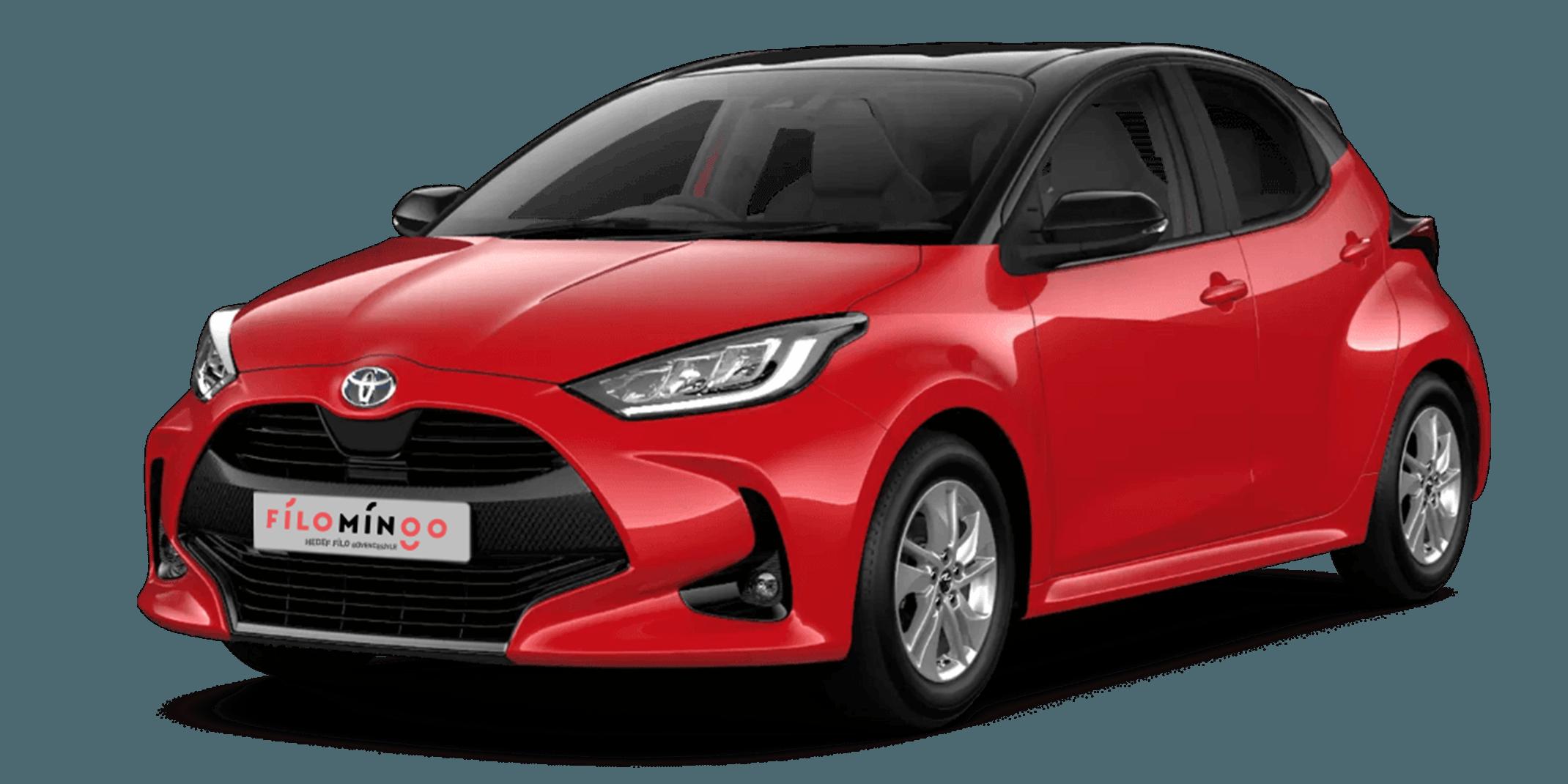 Şirket Aracın Filomingo'da – TOYOTA Yaris 1.0 VISION